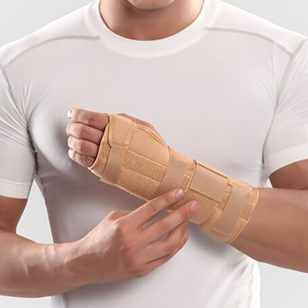 تصویر Long Wrist Splint With Hard Bar