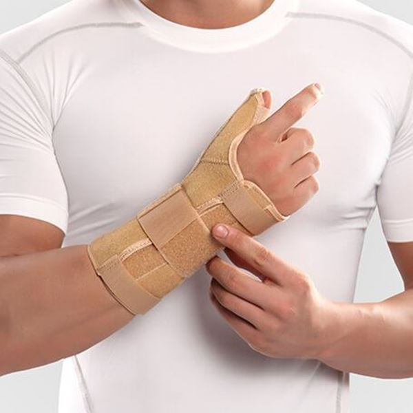 تصویر Wrist Thumb Splint With Hard Bar